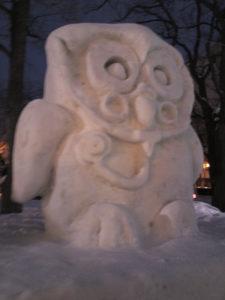 札幌雪祭りで