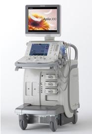 新しい超音波(エコー)診断装置「東芝Aplio 300」を導入